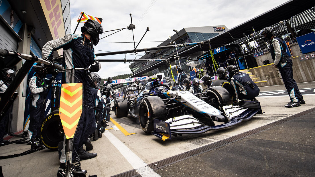 Nicholas Latifi - Formel 1 - GP Österreich 2021