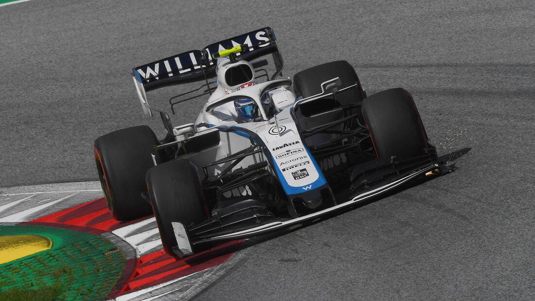 Nicholas Latifi - Formel 1 - GP Steiermark - Österreich - 2020