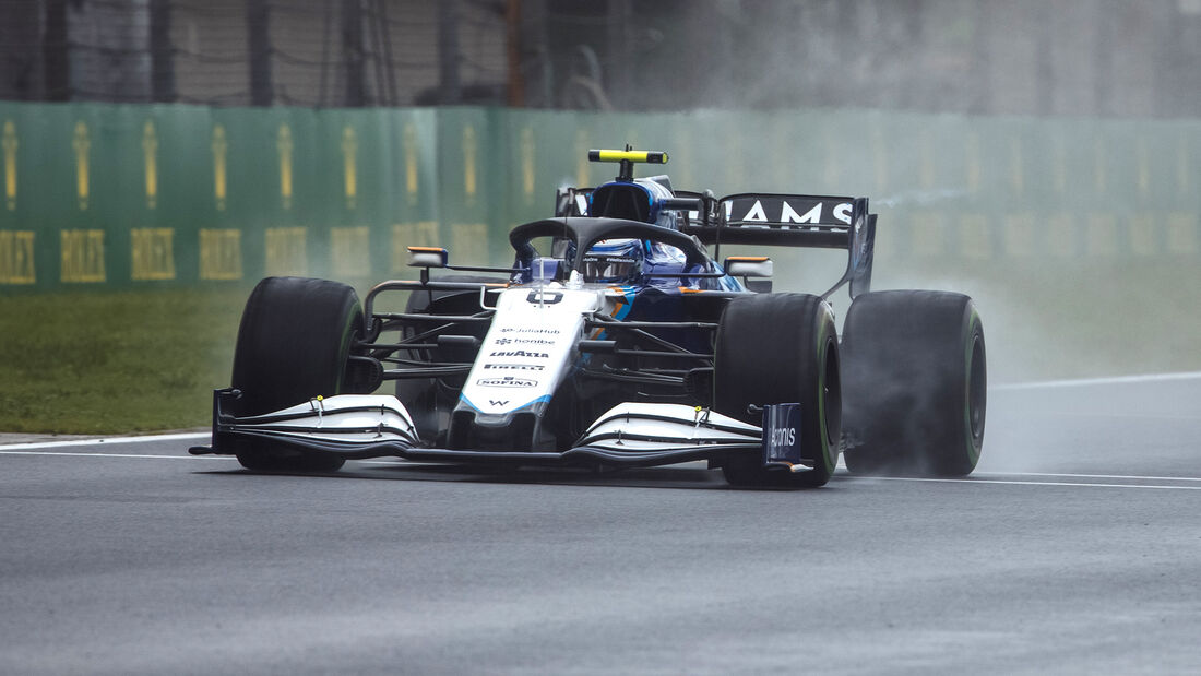 Nicholas Latifi - Formel 1 - GP Türkei - Istanbul - 2021