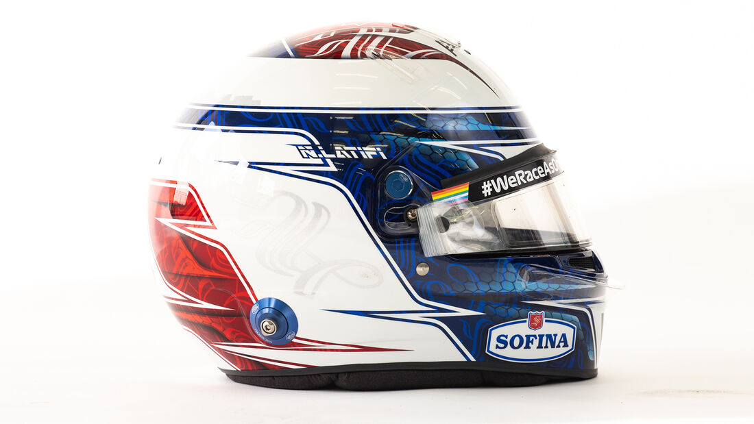 Nicholas Latifi - Formel 1 - Helm - 2021