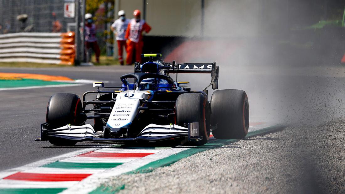 Nicholas Latifi - Formel 1 - Monza - GP Italien 2021