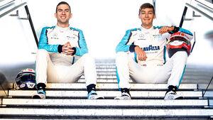 Nicholas Latifi & George Russell - F1 - 2020