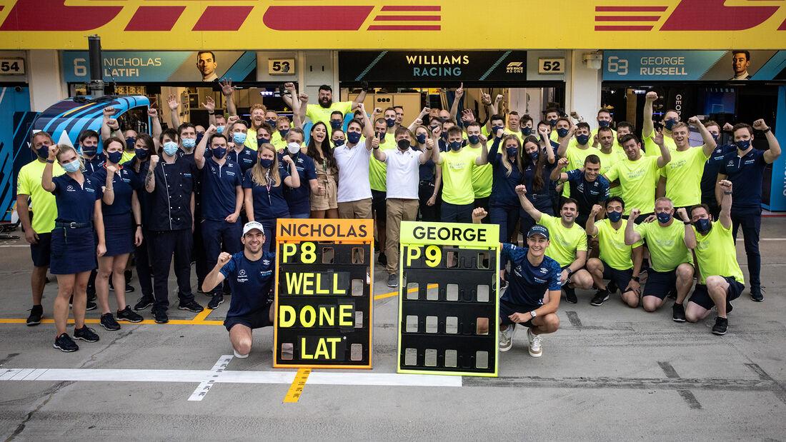 Nicholas Latifi & George Russell - Williams - Formel 1 - GP Ungarn 2021