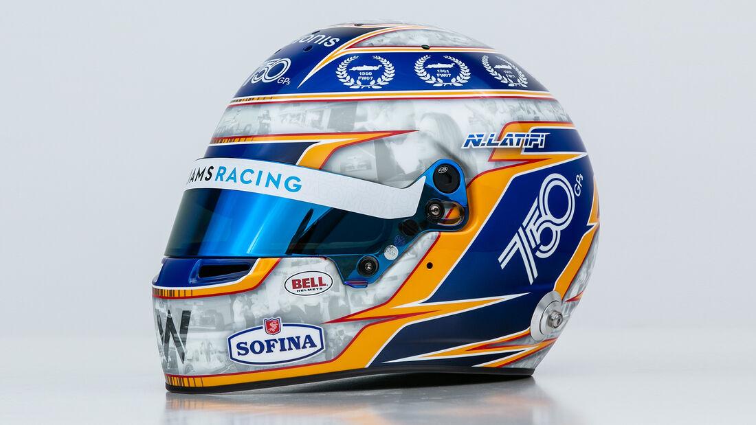 Nicholas Latifi - Helm-Design - GP Monaco 2021