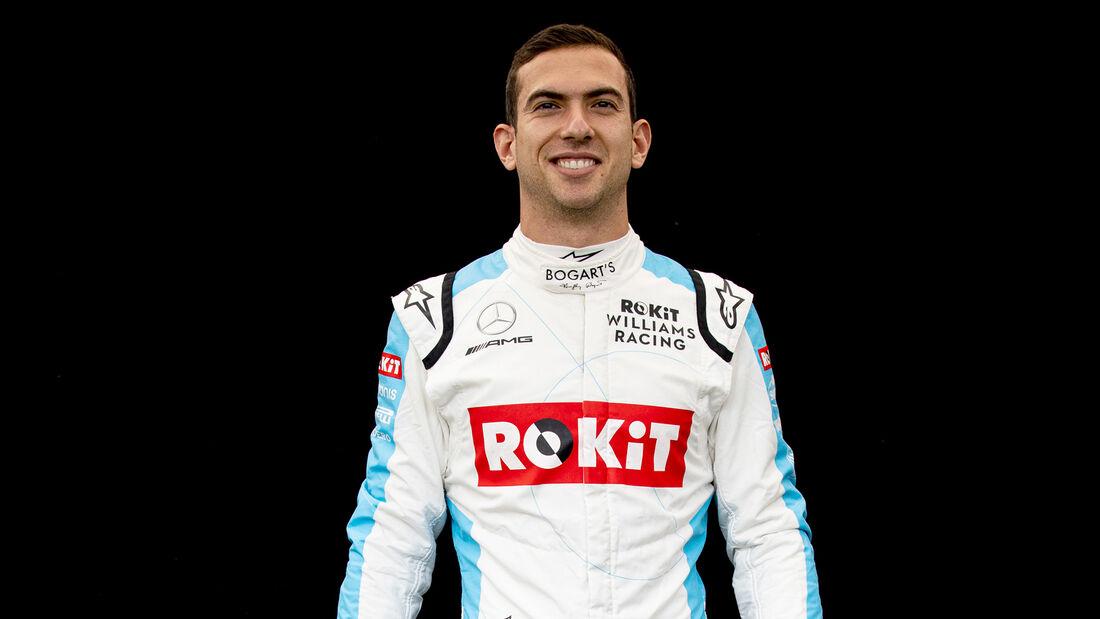 Nicholas Latifi - Porträt & Helm - Formel 1 - 2020