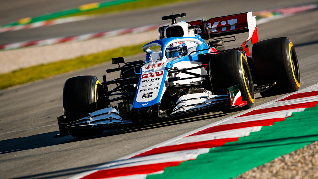 Nicholas Latifi - Test - Barcelona - Williams - 2020
