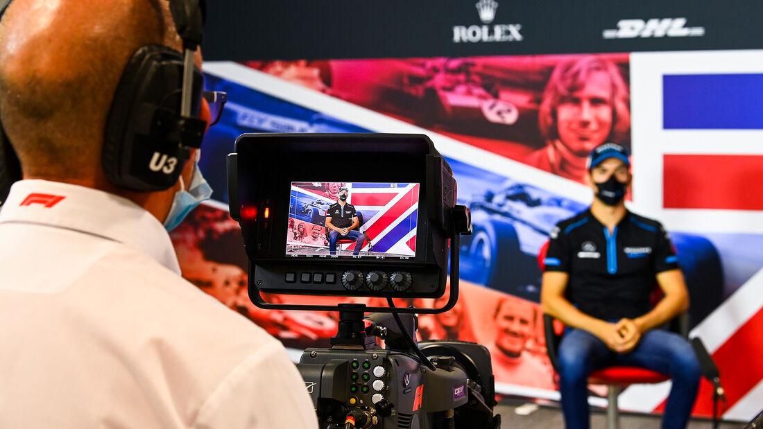 Nicholas Latifi - Williams - 70 Jahre F1 GP - Silverstone - Formel 1 - 6. August 2020