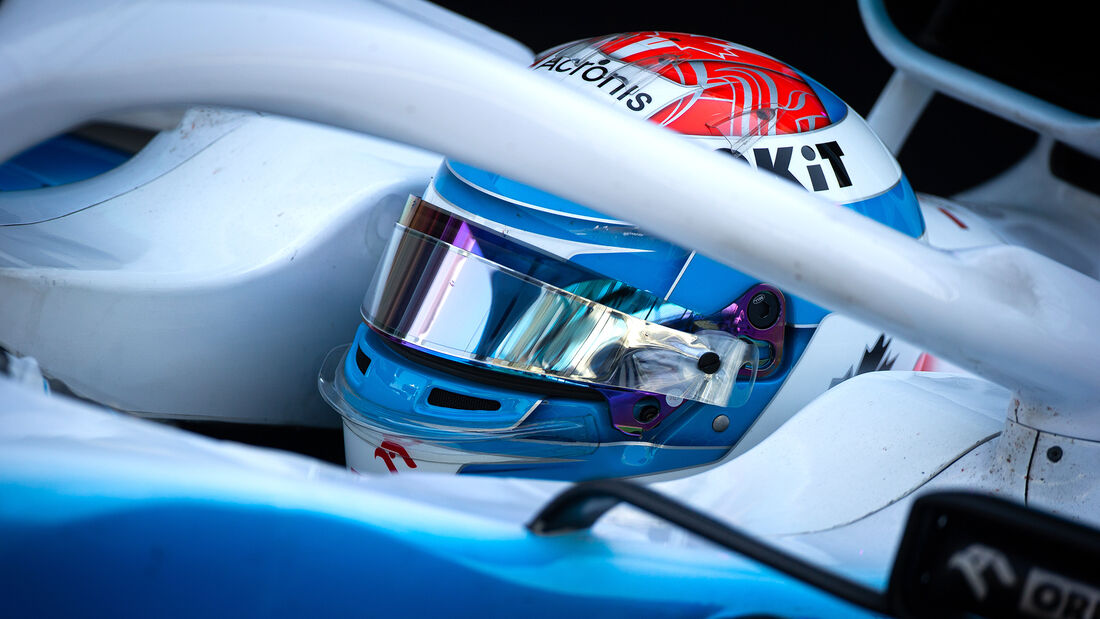 Nicholas Latifi - Williams - F1-Test - Abu Dhabi - 4. Dezember 2019