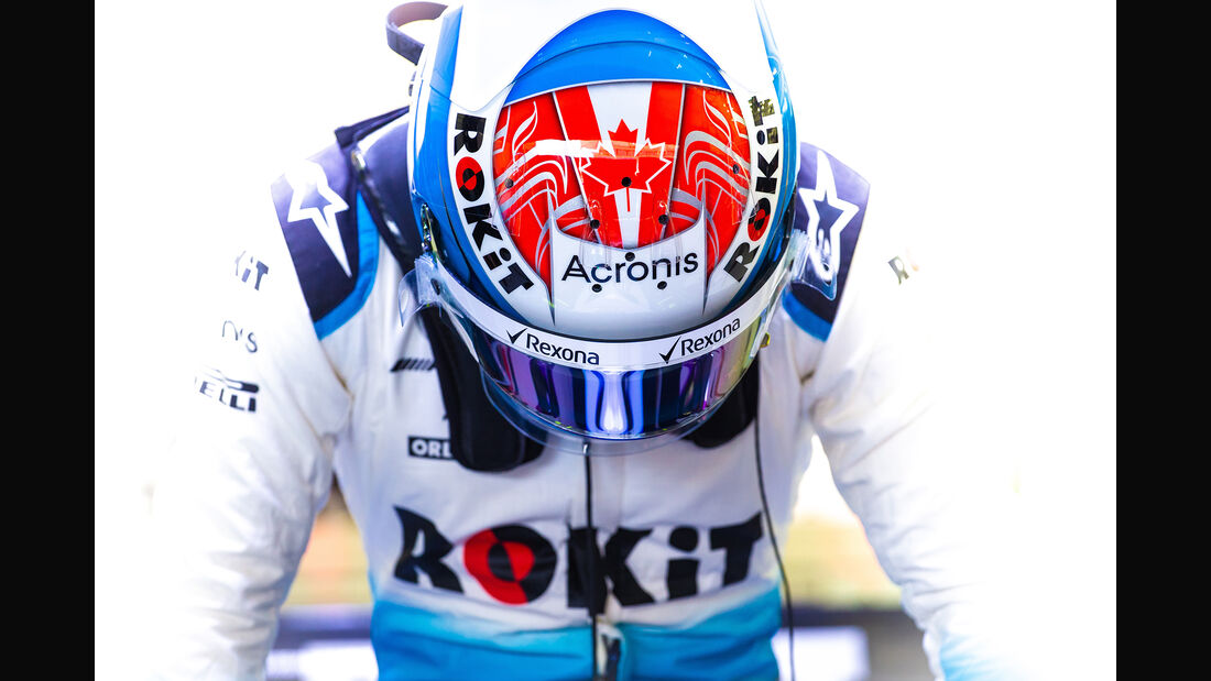 Nicholas Latifi - Williams - F1-Test Bahrain - 3. April 2019