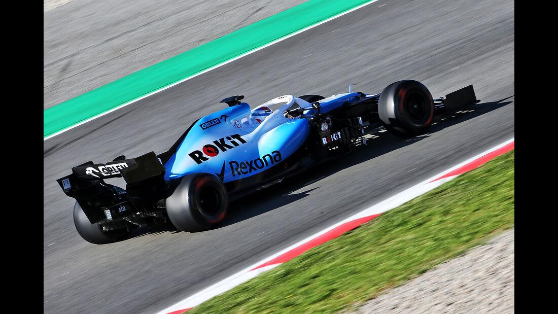 Nicholas Latifi - Williams - F1-Test - Barcelona  - 14. Mai 2019