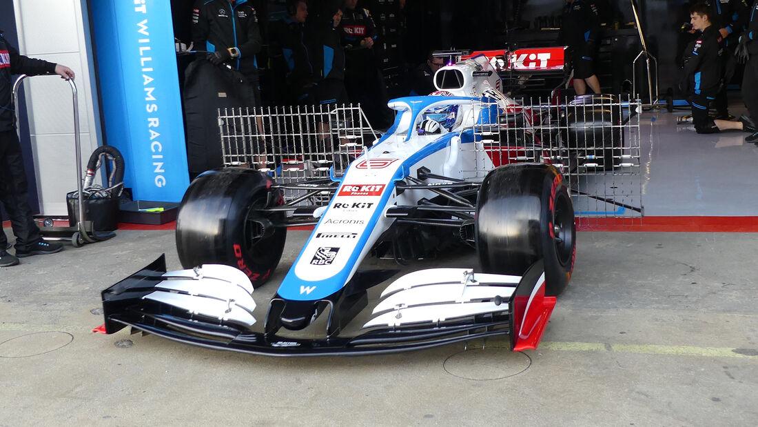 Nicholas Latifi - Williams - F1-Test - Barcelona - 26. Februar 2020
