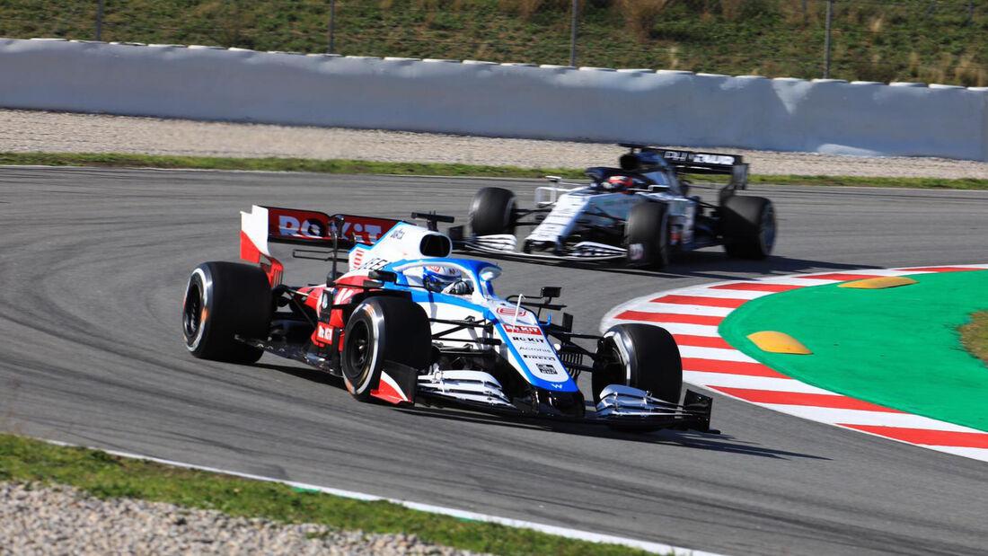 Nicholas Latifi - Williams - F1-Test - Barcelona - 27. Februar 2020