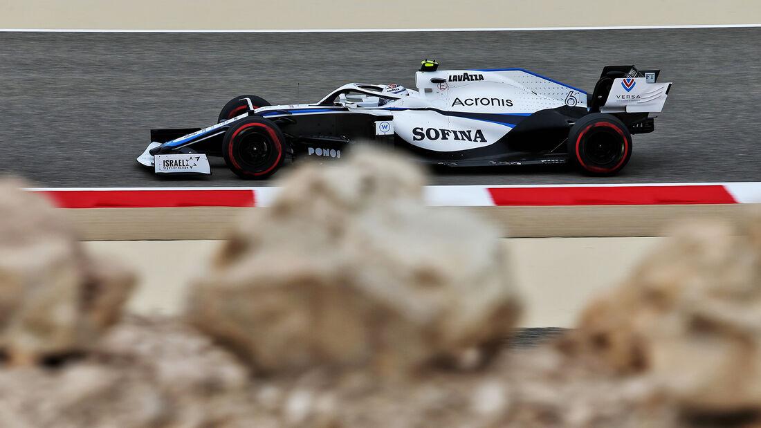Nicholas Latifi - Williams - Formel 1 - GP Bahrain- Sakhir - Freitag - 27.11.2020