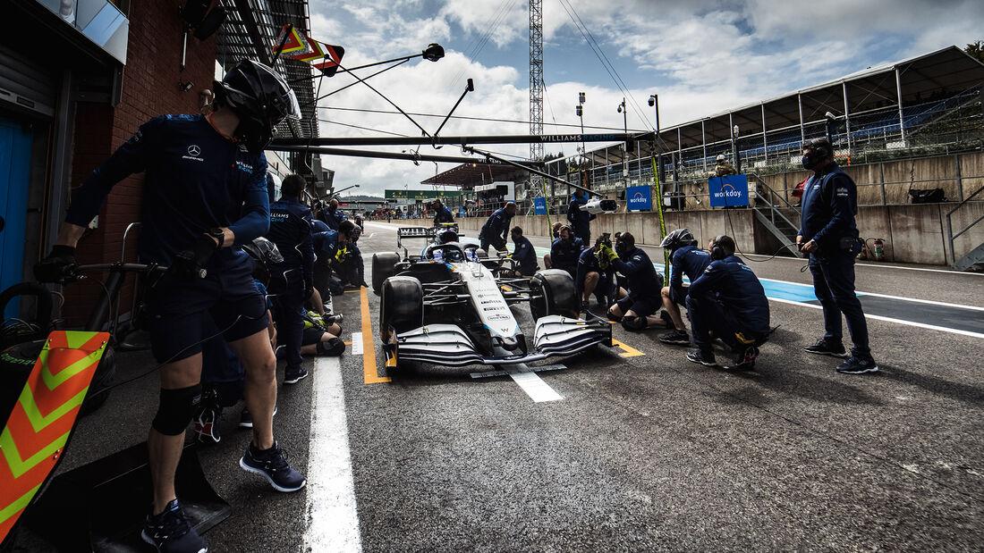Nicholas Latifi - Williams - Formel 1 - GP Belgien - Spa-Francorchamps - 27. August 2021