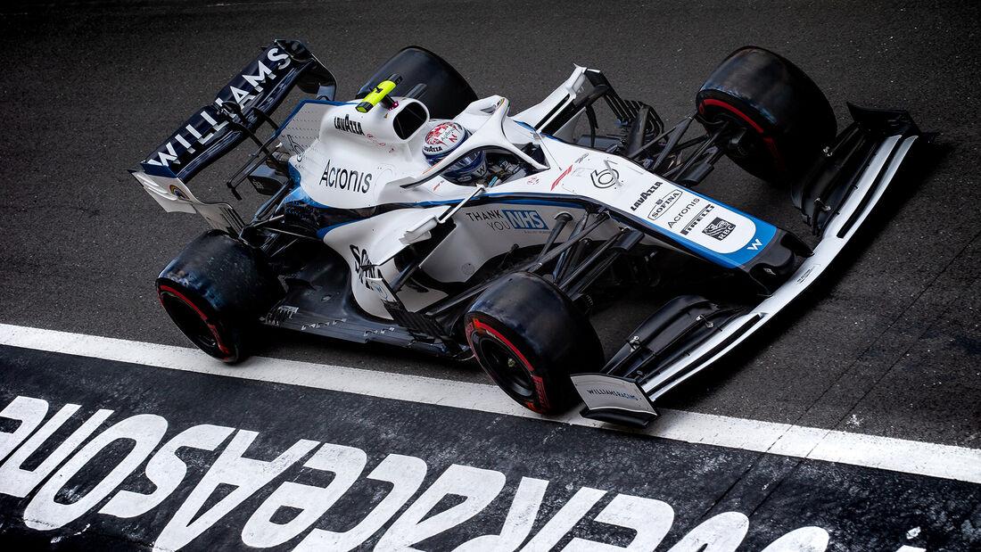 Nicholas Latifi - Williams - Formel 1 - GP England - Silverstone - 1. August 2020