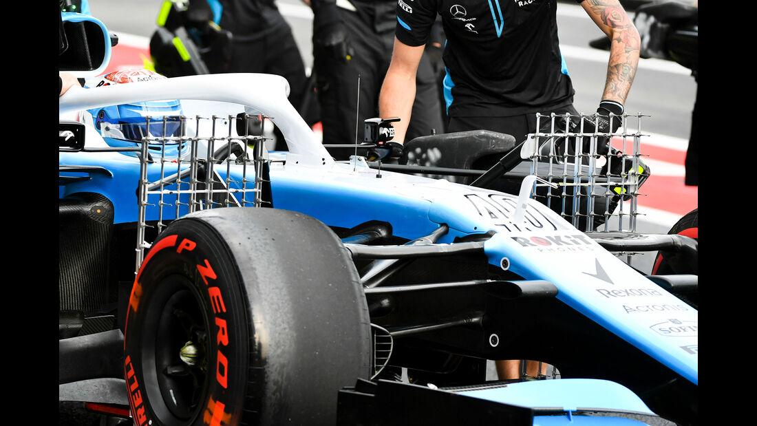 Nicholas Latifi - Williams - Formel 1 - GP Mexiko - 25. Oktober 2019