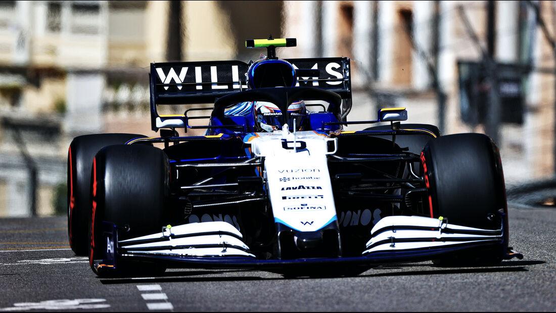 Nicholas Latifi - Williams - Formel 1 - GP Monaco - 20. Mai 2021