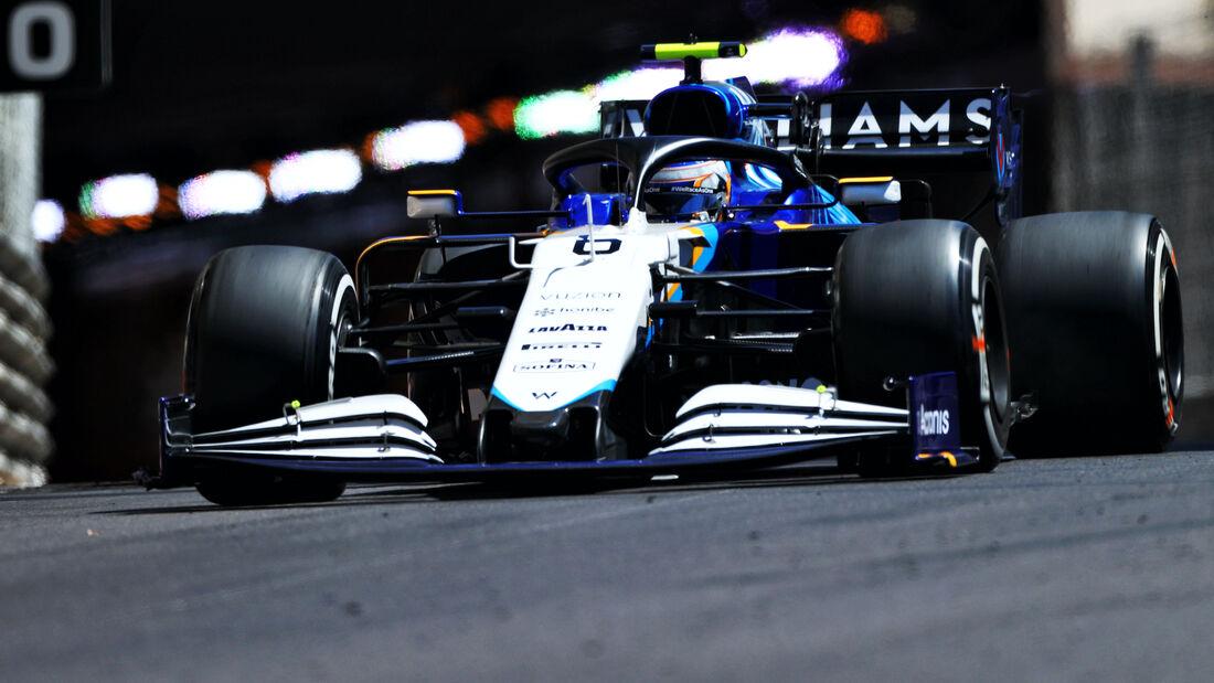 Nicholas Latifi - Williams - Formel 1 - GP Monaco 2021