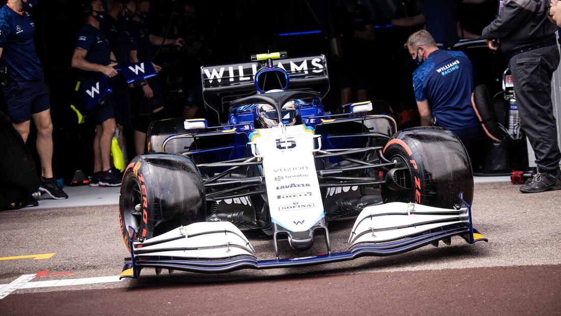 Nicholas Latifi - Williams - Formel 1 - GP Monaco - 22. Mai 2021