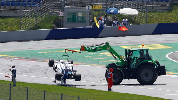 Nicholas Latifi - Williams - Formel 1 - GP Österreich - 4. Juli 2020