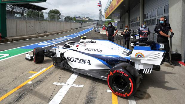 Nicholas Latifi - Williams - Formel 1 - GP Österreich - Spielberg - 3. Juli 2020