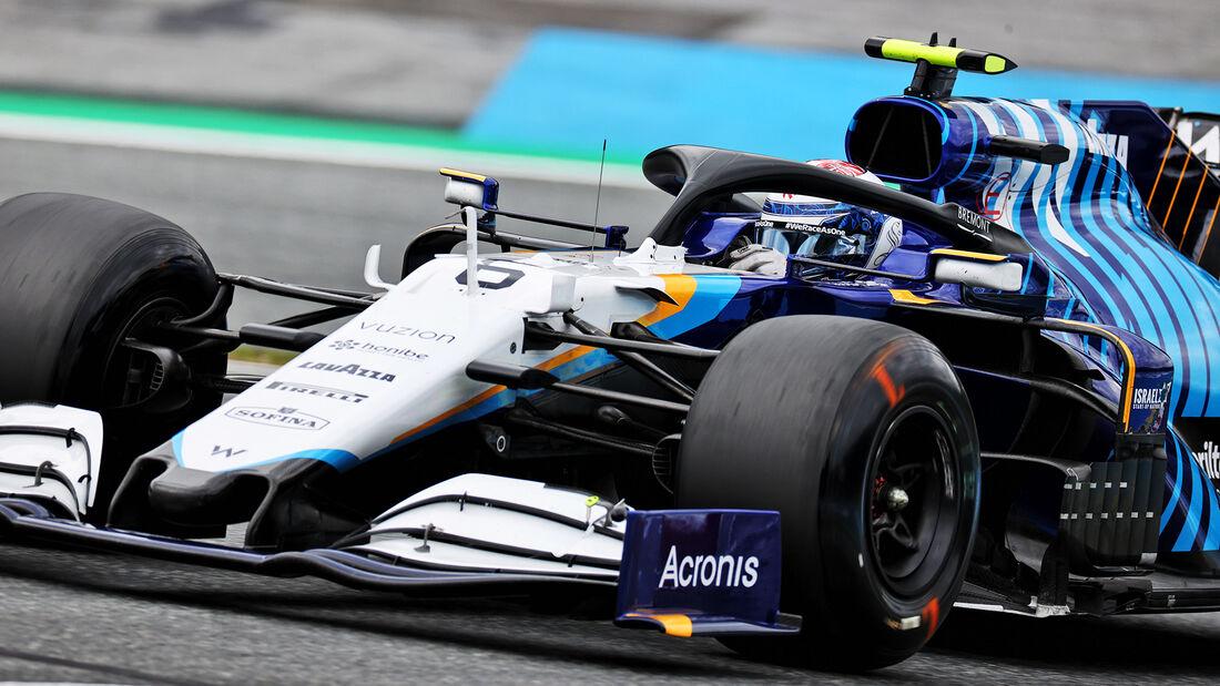 Nicholas Latifi - Williams - Formel 1 - GP Österreich - Spielberg - Freitag - 2.7.2021