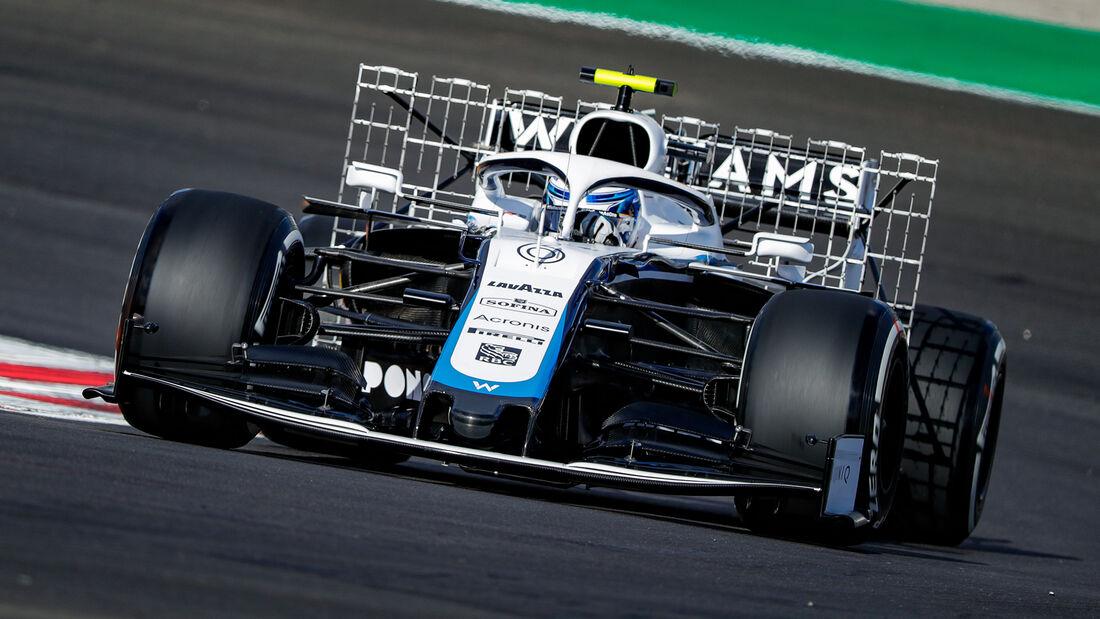 Nicholas Latifi - Williams - Formel 1 - GP Portugal - Portimao - 23. Oktober 2020