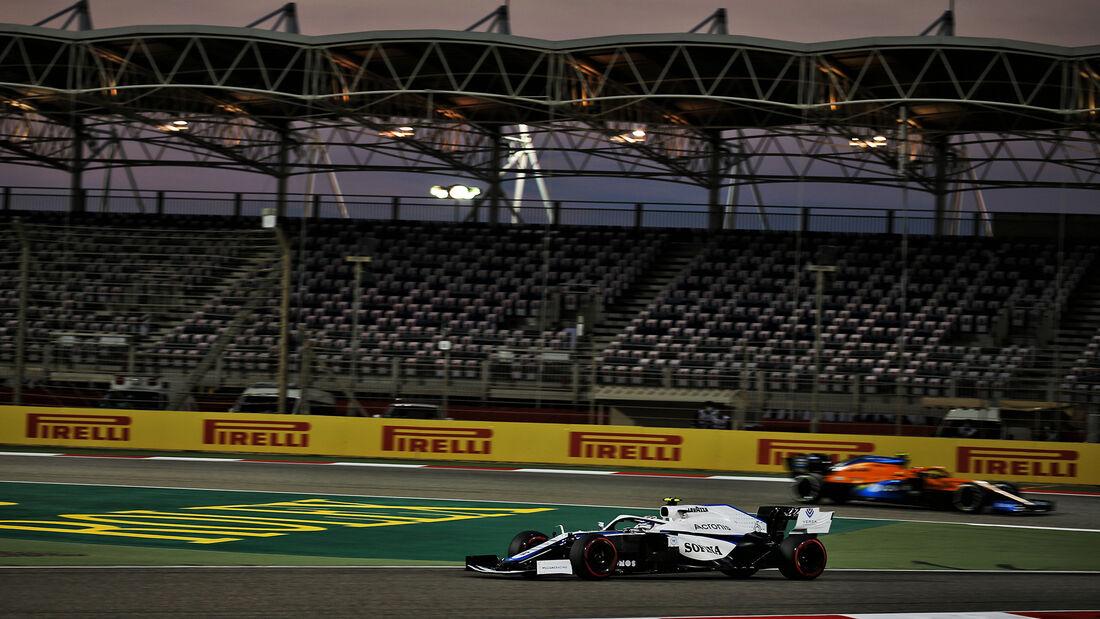 Nicholas Latifi - Williams - Formel 1 - GP Sakhir - Bahrain - Freitag - 4.12.2020