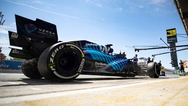 Nicholas Latifi - Williams - Formel 1 - GP Spanien - 7. Mai 2020