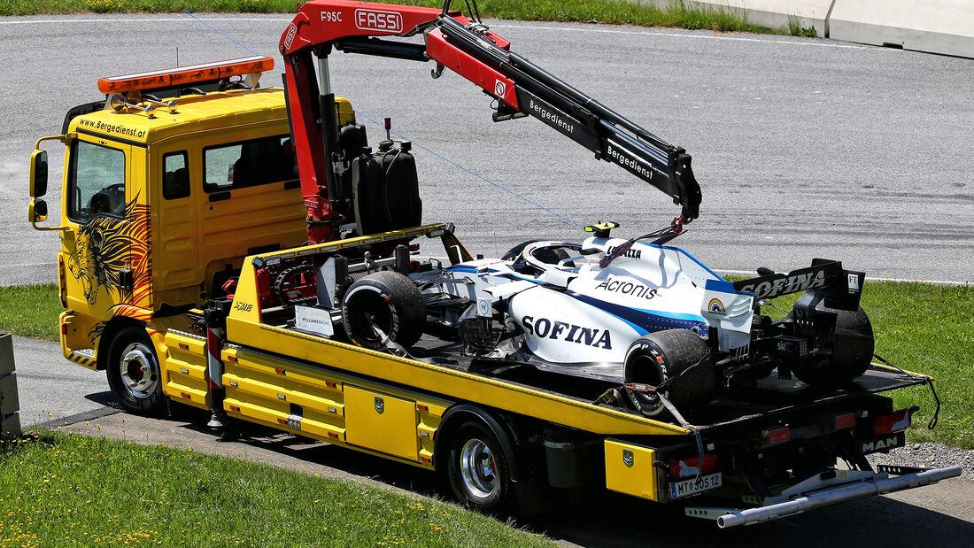 Nicholas Latifi - Williams - Formel 1 - GP Steiermark - Österreich - Spielberg - 10. Juli 2020