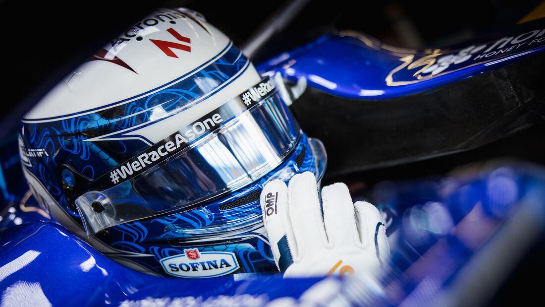 Nicholas Latifi - Williams - Formel 1 - GP Türkei - Istanbul - 8. Oktober 2021