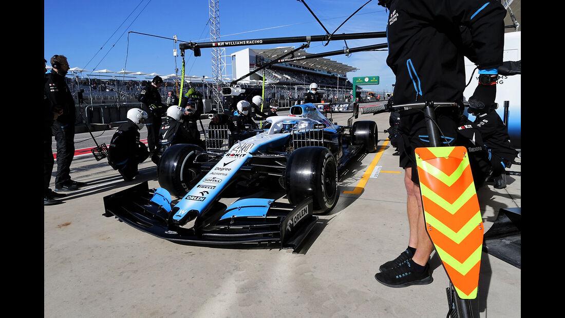 Nicholas Latifi - Williams - Formel 1 - GP USA - Austin - 1. November 2019
