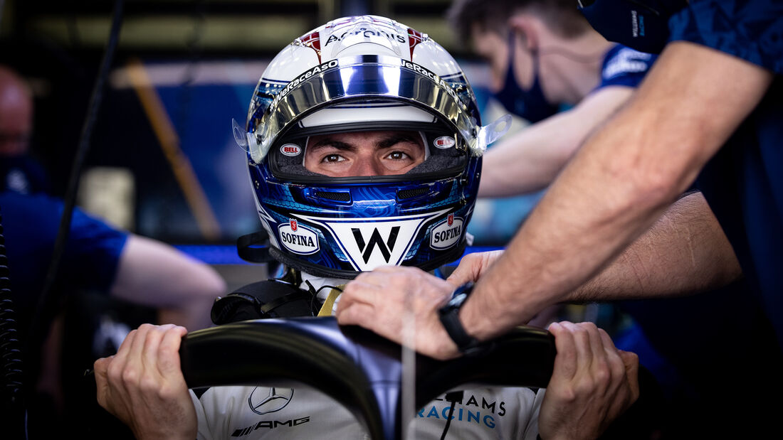 Nicholas Latifi - Williams - Formel 1 - Test - Bahrain - 13. März 2021