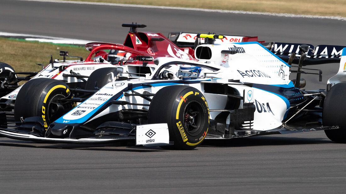Nicholas Latifi - Williams - GP 70 Jahre F1 - Silverstone