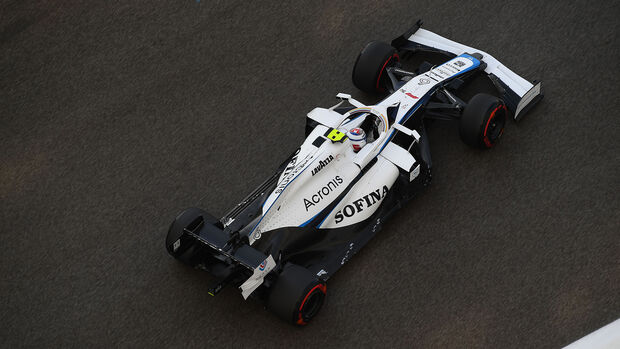 Nicholas Latifi - Williams - GP Abu Dhabi 2020