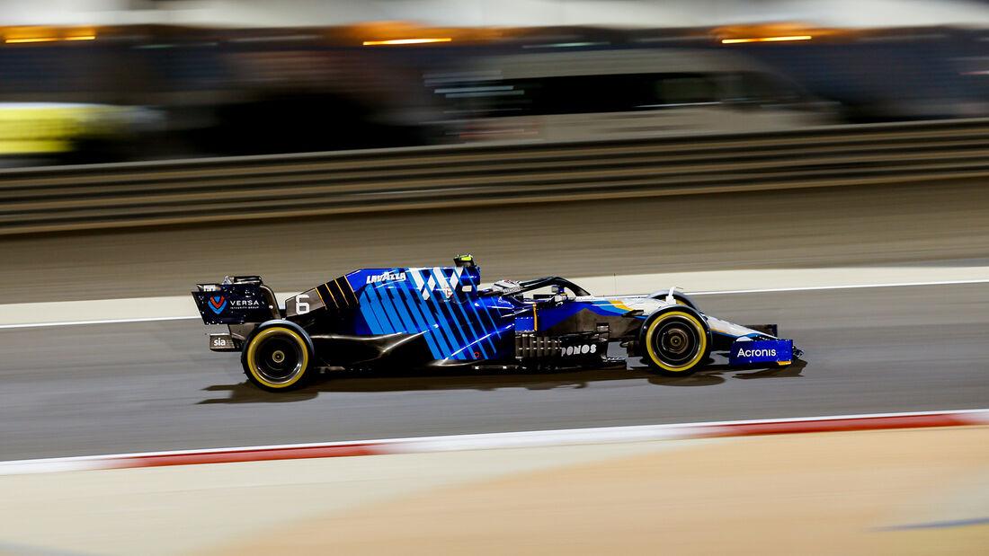 Nicholas Latifi - Williams - GP Bahrain 2021 - Rennen