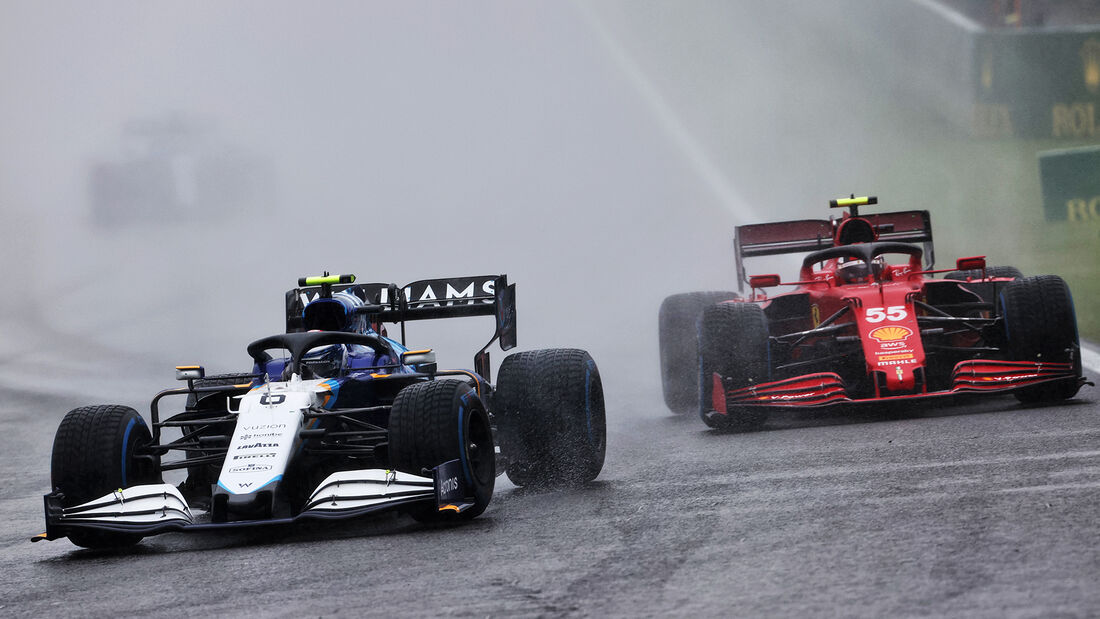 Nicholas Latifi - Williams - GP Belgien 2021 - Spa-Francorchamps