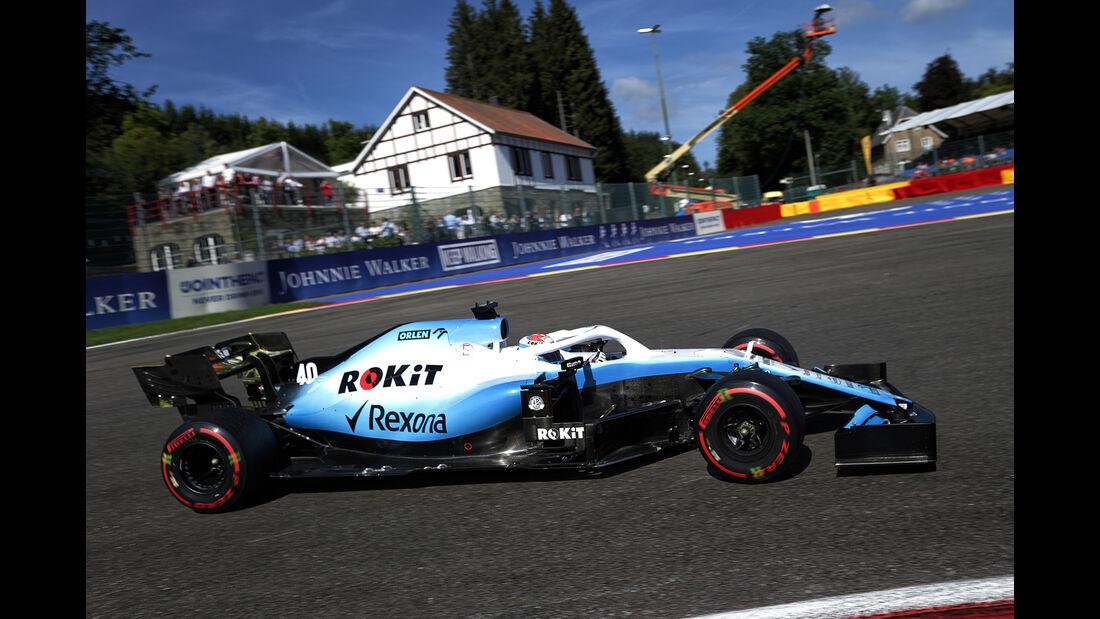 Nicholas Latifi - Williams - GP Belgien - Spa-Francorchamps - Formel 1 - Freitag - 30.08.2019