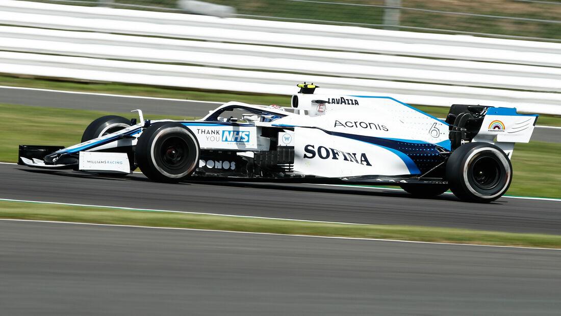 Nicholas Latifi - Williams - GP England 2020 - Silverstone