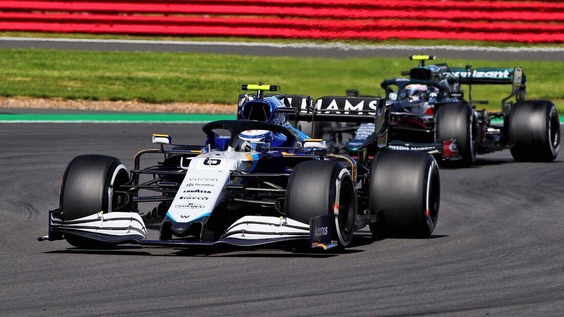 Nicholas Latifi - Williams - GP England 2021 - Silverstone