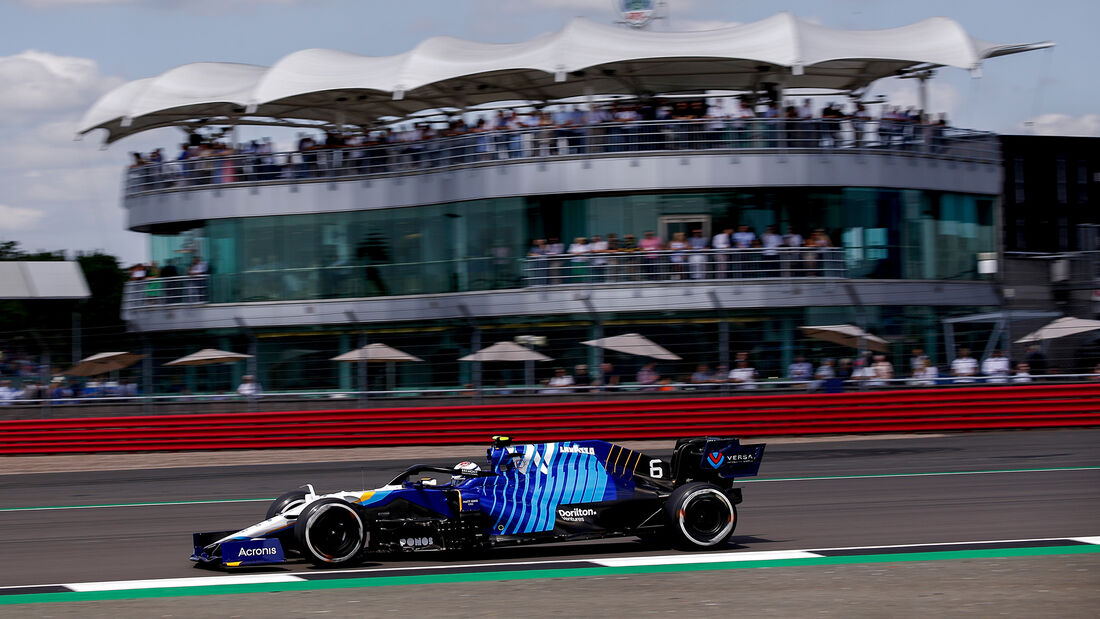 Nicholas Latifi - Williams - GP England - Silverstone  - Formel 1 - 16. Juli 2021