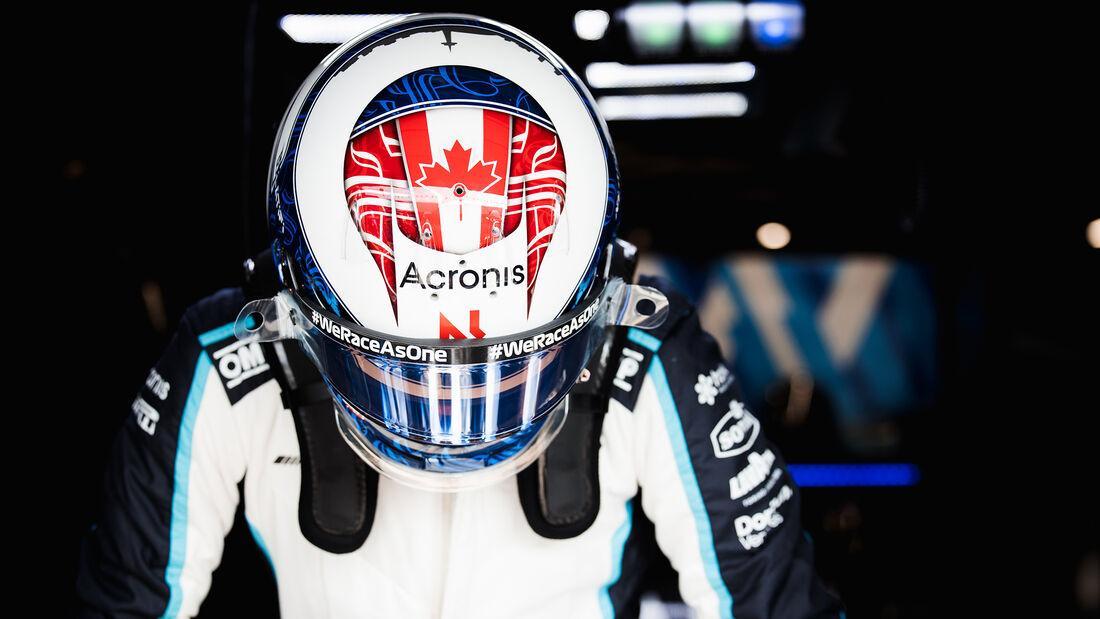 Nicholas Latifi - Williams - GP Niederlande - Zandvoort - Formel 1 - 3. September 2021