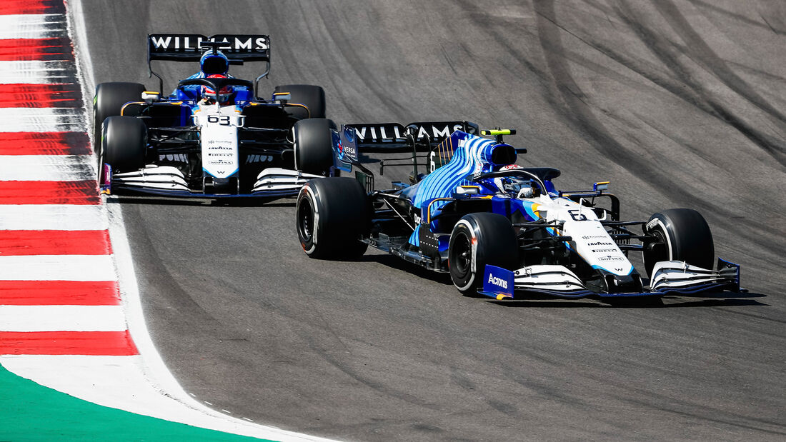 Nicholas Latifi - Williams - GP Portugal 2021 - Portimao