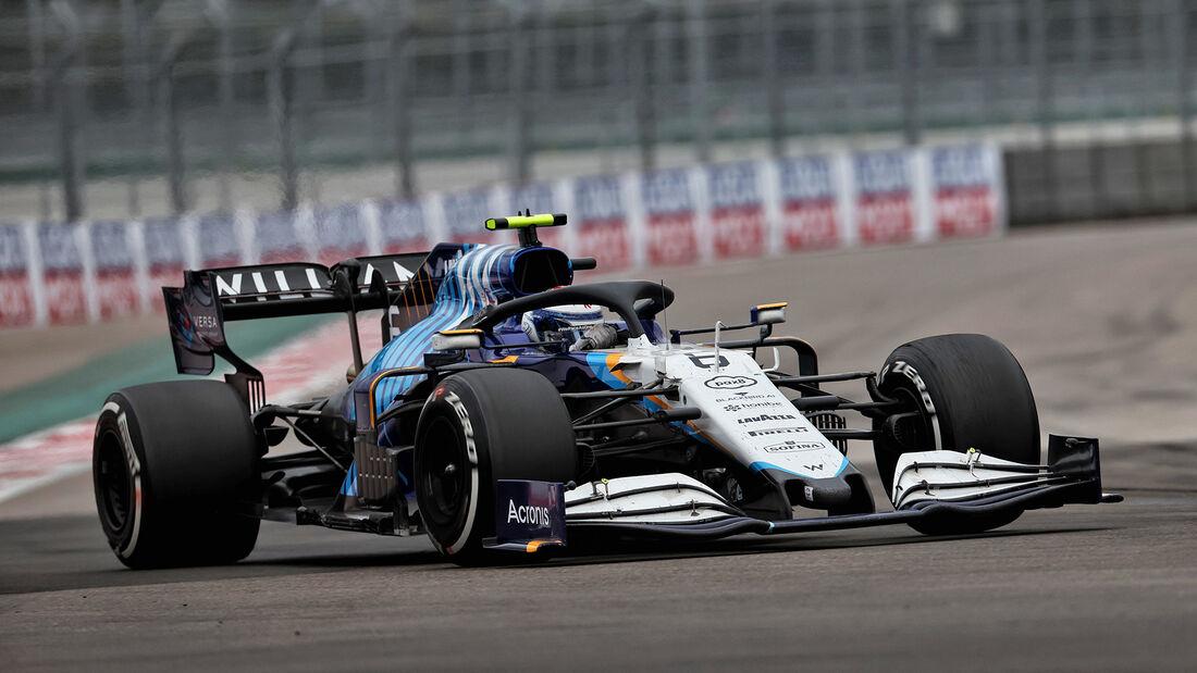 Nicholas Latifi - Williams - GP Russland 2021 - Sotschi