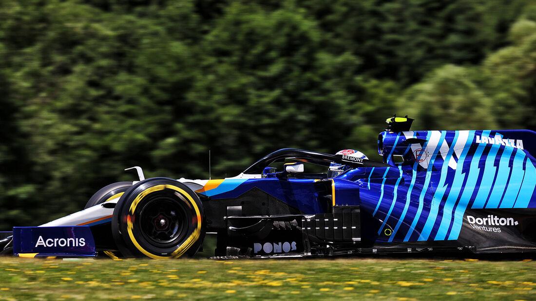 Nicholas Latifi - Williams - GP Steiermark 2021 - Spielberg