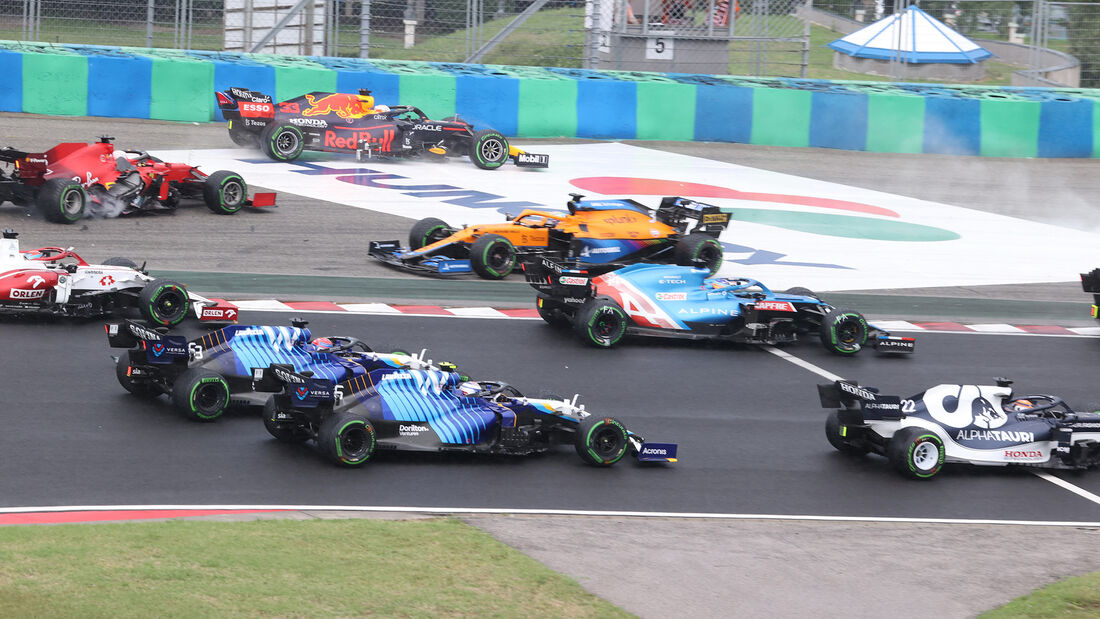 Nicholas Latifi - Williams - GP Ungarn 2021 - Budapest - Rennen