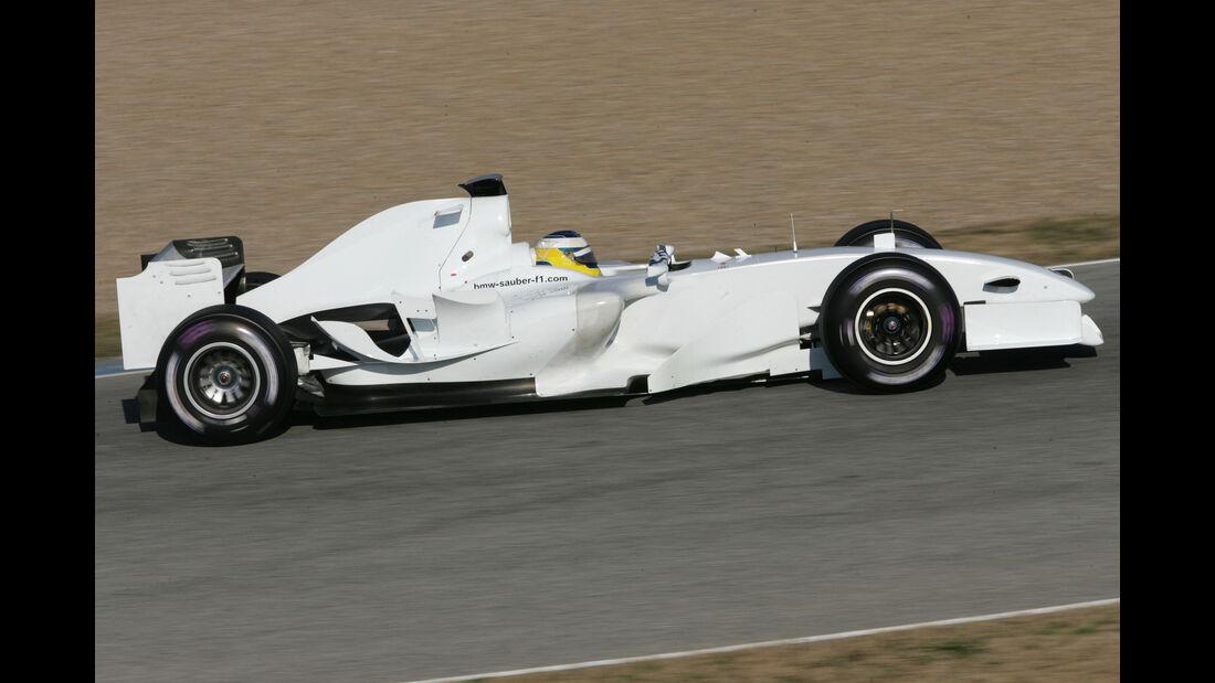 Nick Heidfeld - BMW-Sauber - Test - Jerez - 2006