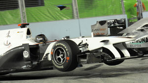 Nick Heidfeld Crash