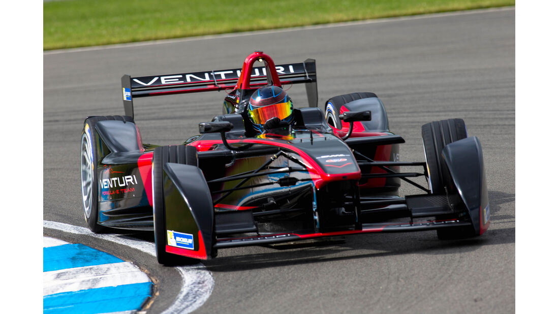 Nick Heidfeld - Formel E-Test - Donington - 07/2014