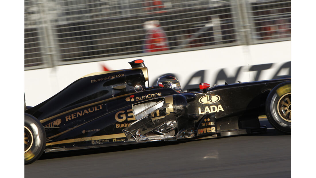 Nick Heidfeld GP Australien Crashs 2011